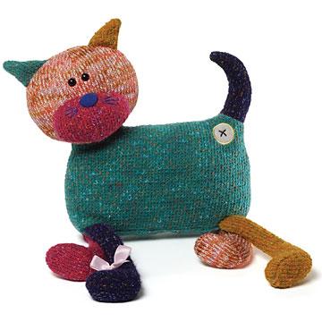 Gund Woollock Cat