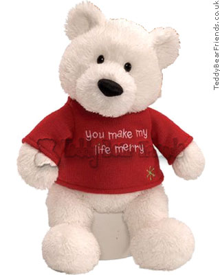Gund You Make My Life Merry Bear