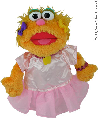 Gund Sesame Street Zoe Ballerina Puppet