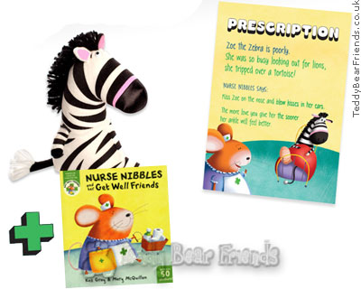 Get Well Friends Zoe Zebra and Whos Poorly Too Book